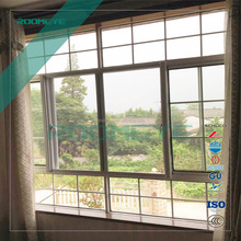 Modern Style Sliding Arched Aluminum Windows, Residential Use Bedroom Windows and doors