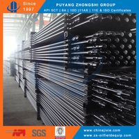 Oilfield AISI 4130 4132 Grade D H K 4720 KD Alloy Sucker Rod Pumping Rod