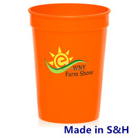 Top Quality Stadium Cup w Lid & Straw Promotional Cheap Beer Steins