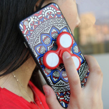 Funny Hand Fidget Spinner Phone Case For iPhone 6 Case Tpu Cover