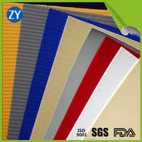 High-strength pvc waterproof knife coated fabric for tarpaulin