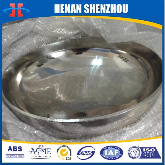 ASME Code Stainless Steel 2:1 Elliptical Dished heads Conventional Tank Heads Tank ends Tank covers Pressure Vessel and Boilers