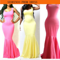 Sedrinuo BRAND MAXI BODYCON PARTY KNITTING VINTAGE GIRL EVENING CASUAL PROM DRESS TQ8853