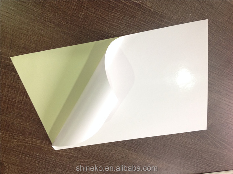 Good price self adhesive mirror coated paper with white liner