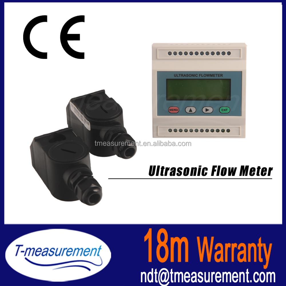 For chilled water tds ultrasonic flow meter sencer non invasive flowmeter