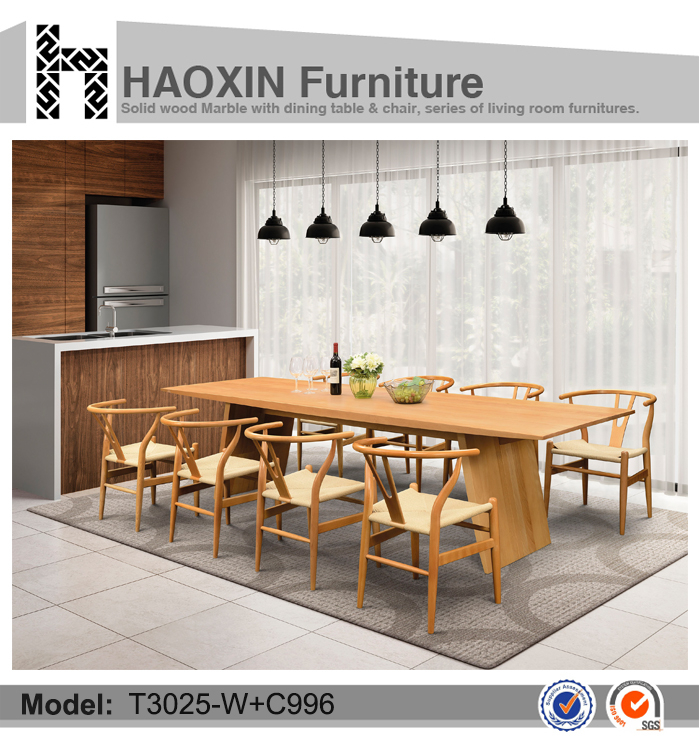 Exclusive solid wood dining tables, beech wood and chair