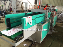 Biodegradable plastic bag making machine/t-shirt bag making machine price/shopping plastic bag making machine price