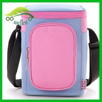 Large capacity travel vehicle cooler bag, baby care breast milk cooler bag, ice cream cooler bag