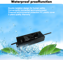 20W 30W 40W 45W 50W 60W 80W 100W 120W 150W 200W 240W 0-10V dimmable driver waterproof led driver IP67