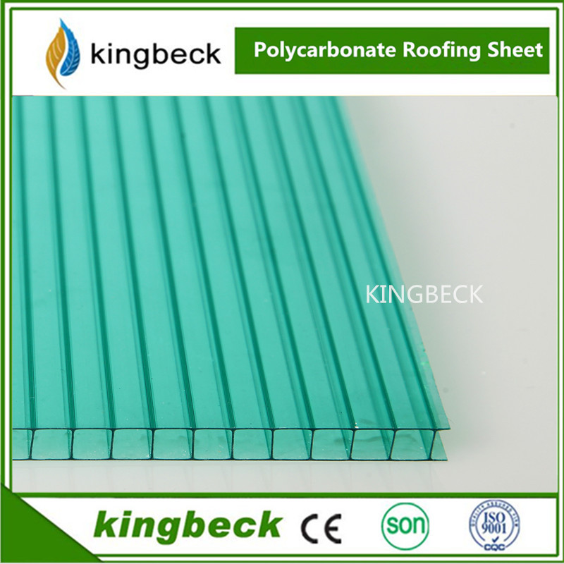 silver hight heat insulation ten-year warranty polycarbonate corrugated plastic roofing sheets