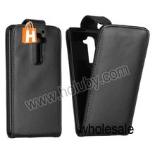 OEM Magnetic Vertical Flip PU Leather Case Cover for LG Optimus G2 D801 D802 D803