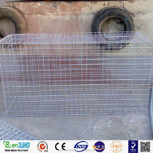 hexagonal 80x100mm triple twist wire mesh gabion box