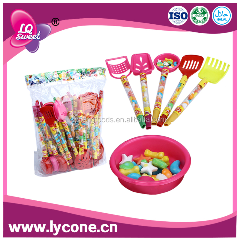 Multi-shape fruits press Candy compressed dextrose candy