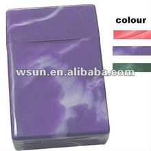 PP Plastic cigarette case for promotional