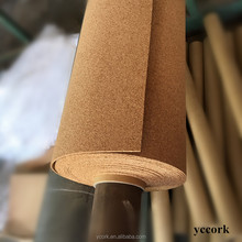 4mm thick super quality cork roll for cork flooring material