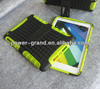 combo case for Ipad Mini2 Mini II, TPU and PC with Kickstand