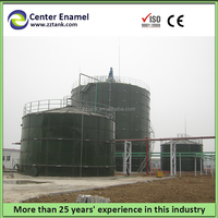 Turnkey project for waste water treatment used enamel bolted tank