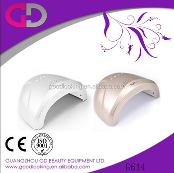 48w sun light portable ccfl + uv+ led curing nail lamps