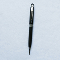 Classic Chrome And Gold Mont Black Pen Promotional Metal Stylus Pen-free Sample