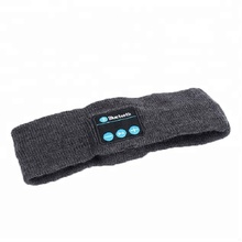 Bluetooth wireless Bluetooth music <strong>headband</strong> knitted running Yoga sweat hairdo scarf Bluetooth hair band