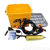 12v portable auto battery powered car washer