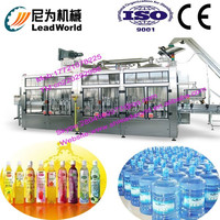 professional and high efficiency minerial water washing filling and capping machine