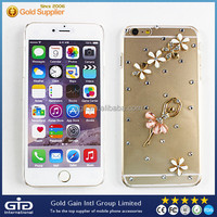 [GGIT] For iPhone 6 Plus Bling Clear Diamond Rhinestone Crystal PC Case
