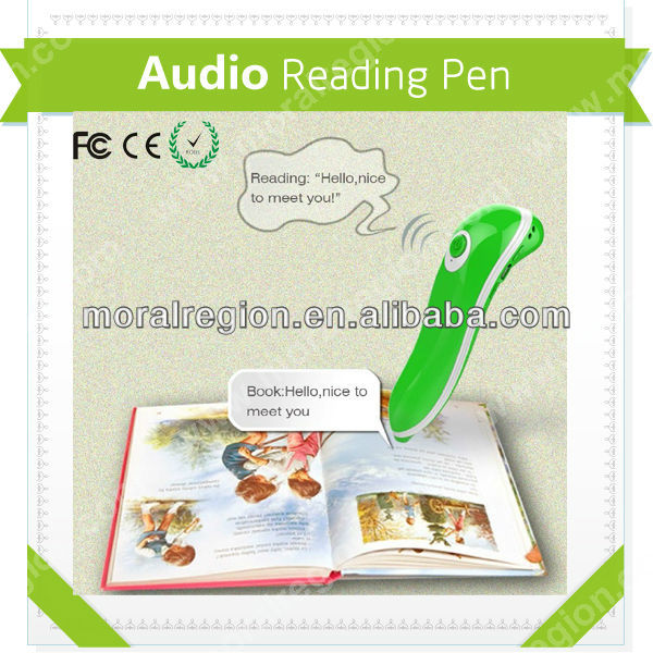 Hot educational point read pen for kids newly design with CE,EMC