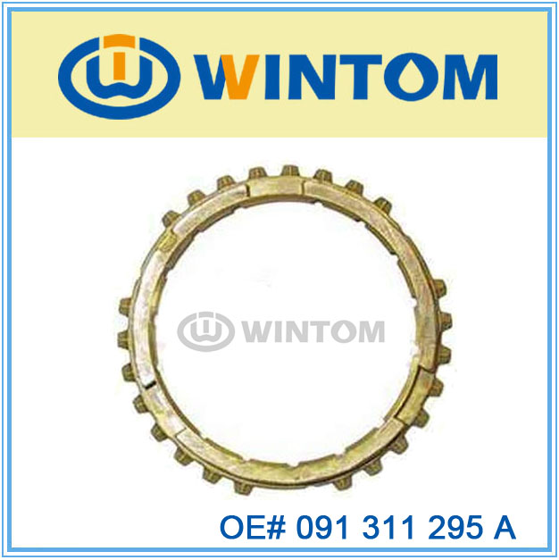 manual transmission of gearbox synchronizing ring for vw transporter 091 311 295 A