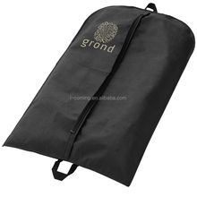 High quality brand promotional black non woven fabric costume dance garment cover quilted bag manufacturer
