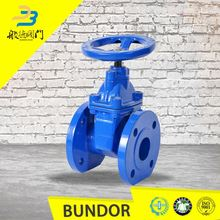 Wedge non rising stem handwheel dn200 gate valve extension spindle