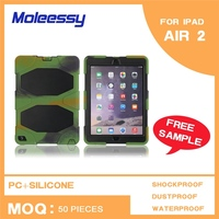 High quality Waterproof Shockproof Powerful handle case for ipad air