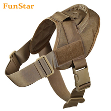 Factory Customized Tactical Service Dog Training Harness