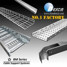 Direct Sales Factory Specialized in Cable Tray Ladder Trunking Wire Mesh Wireway Channel Cable Support System(UL,cUL,CE,IEC)