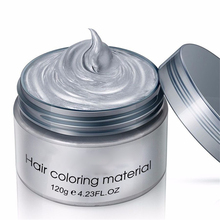 Three Magicians Grandma Gray Hair Wax 120g Does Not Hurt Silver One-Time Dye Fifty Degrees Color