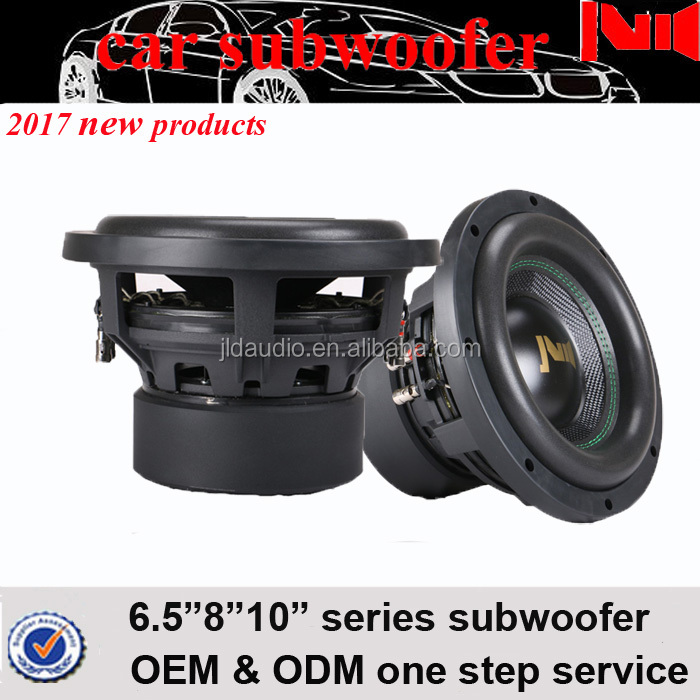 2017 Jiaxing JLD new products 10inch best powered subwoofer with aluminum basket and 800w rms woofer speaker
