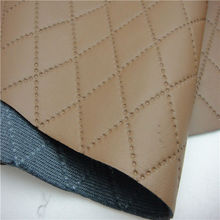 Wholesale quilted faux leather fabric