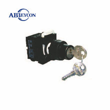 key electrical switch lock1NO 1NC push button selector key - operated switch maintained turn button with key lock