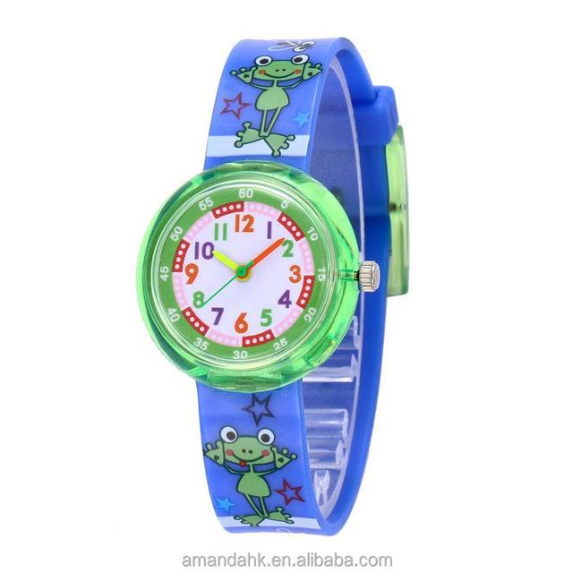 Hot Sale Children Wristwatch Wholesale 11 Styles Dinosaur Unicorn Silicone Watch Cartoon Electronic Wristwatch For KIds