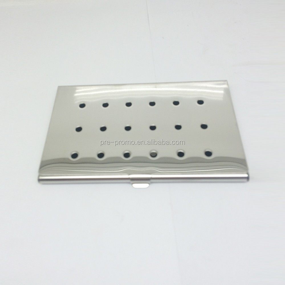 Stainless Steel Business Card Holder For 10 Cards Buy
