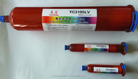 YC3195LV high quality loca uv adhesive for mobile phone lcd touch screen