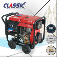 CLASSIC(CHINA) Long Run Time 5000 watt Generator Dynamo with ATS, AC Single and Three Phase Diesel Generator Set