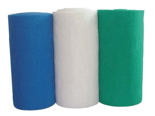 white blue green filter sponge(roll)