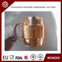 Stainless steel moscow mule coffee and beer mug