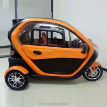 Electric tricycle 3 wheel mini car with door