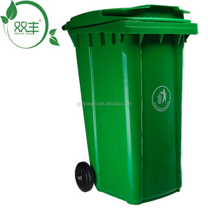 240 liter Standing Structure and Stocked,Eco-Friendly Feature waste bin