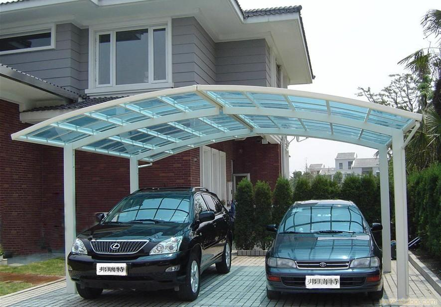UV proof ,high snow load polycarbonate roof material car canopy