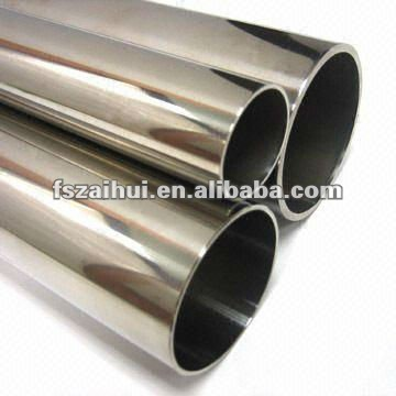 offer decorative welded stainless steel round/square/oval/half round/ elliptical/spiral/ embossed pipe with mirror/satin/brush