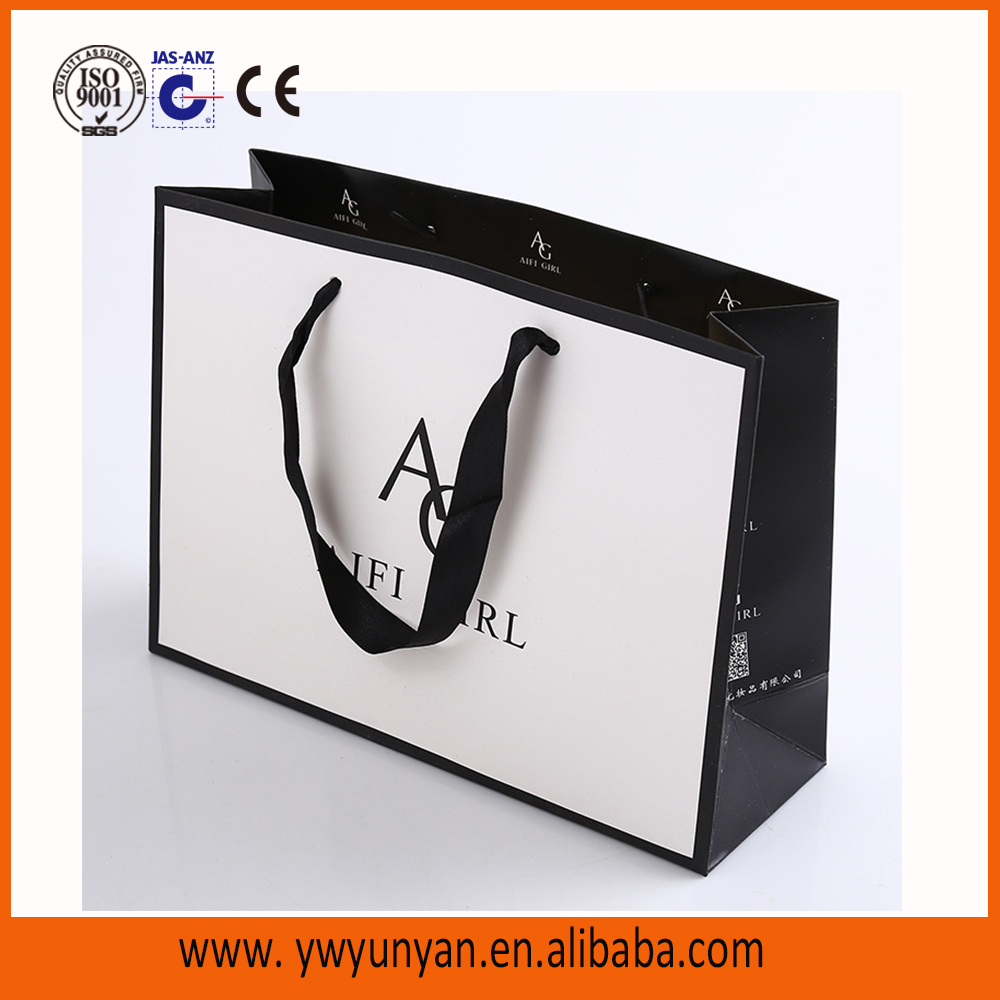 Recycle paper bag retail Euro tote