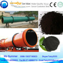 Hot sale organic fertilizer rotary dryer/drum dehydrator /drying machine